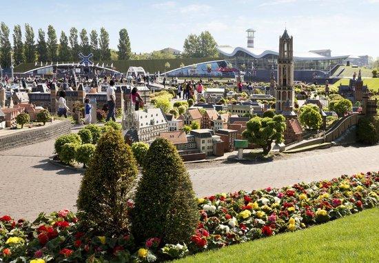 The Hague, The Netherlands: Miniature theme park Madurodam in optima forma!