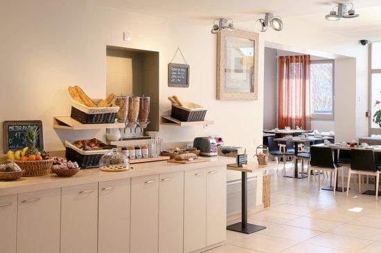 Best Western Hotel Gap : Buffet Petit Déjeuner