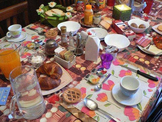 Abruzzo Segreto Navelli: завтрак