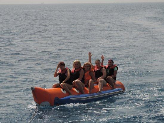 Red Sea - Dive Cruise : Катание на банане
