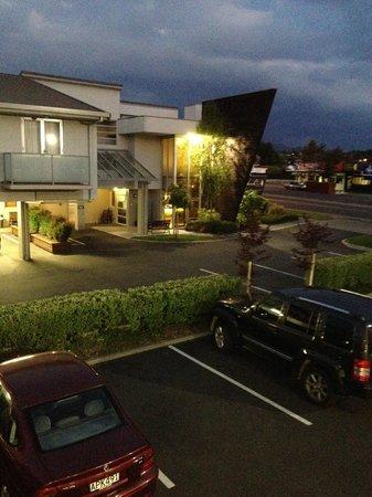 Beechtree Motel: Balcony view