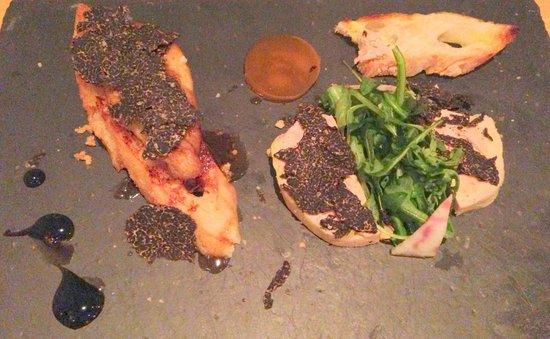 La Roustide : duo de foies gras