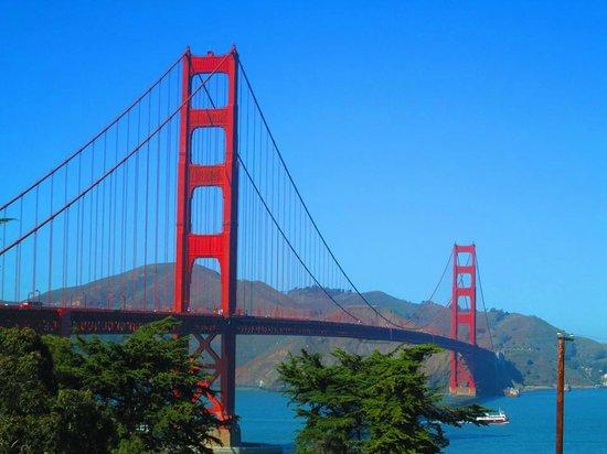 The Westin St. Francis San Francisco on Union Square: Golden Gate Bridge