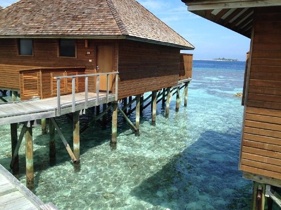 Vakarufalhi Island Resort: Water bungalow