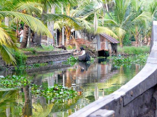 Nelpura Heritage Homestay: ballade sur les canaux