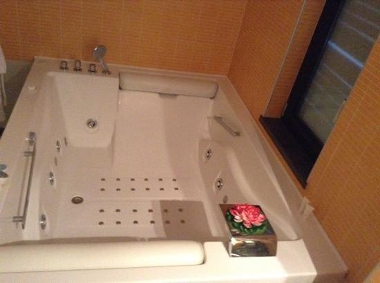 Pompei Resort: idromassaggio