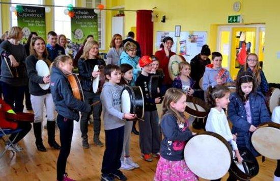 Bodhran Experience: Big Music Project Glencullen Wicklow