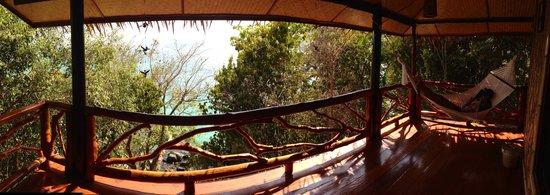 Viking Natures Resort : terrasse