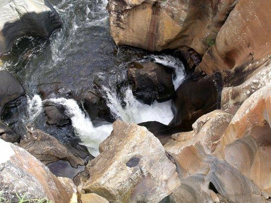 Bourkes' Luck Potholes : Formation géologique due à l'érosion