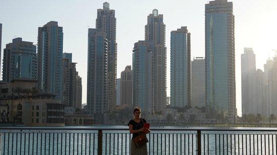 Dubai Fountains: панорама