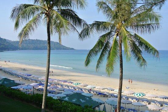 Katathani Phuket Beach Resort: View from our room