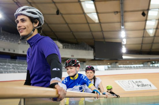 Mountain bike trails at Lee Valley VeloPark