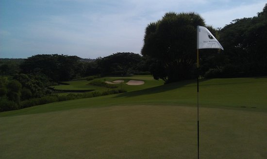 Bali National Golf Club: Front 9 old Amanusa course
