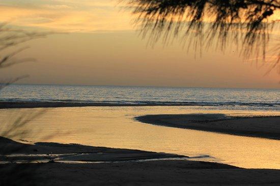 Laguna Beach : coucher de soleil