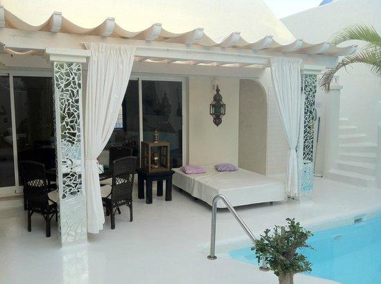 Katis Villas Boutique Fuerteventura : poolbereich
