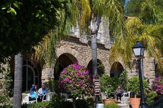 Parador de Malaga Gibralfaro : The facade