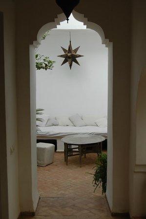 Riad O2 : Einer der Loungebereiche