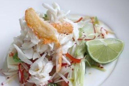 Thomas Corner Eatery: Spanner crab salad