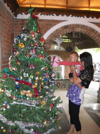 Hotel Ambadi: In the lobby