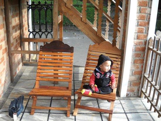 Hotel Ambadi: Balcony of the room