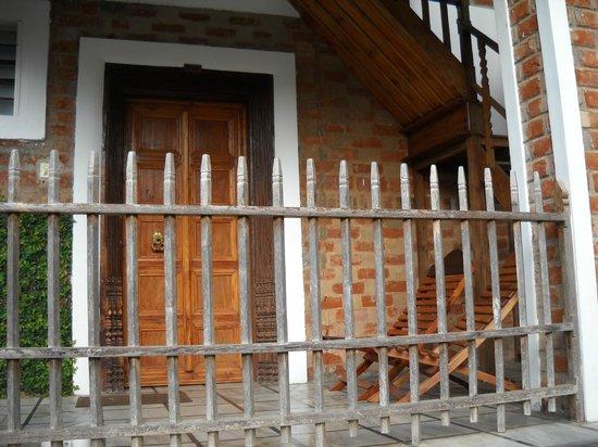 Hotel Ambadi: room outside view
