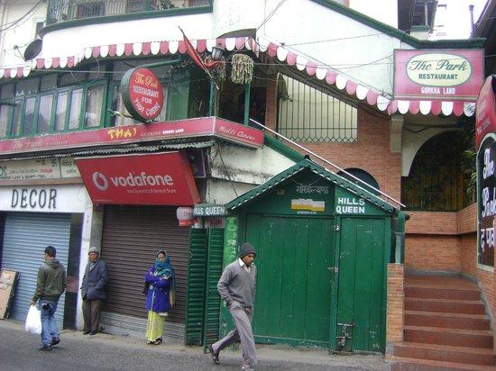 The Park Restaurant: entrance