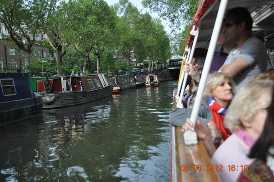 Walker's Quay Canal Cruises: Cruising through Little Venice