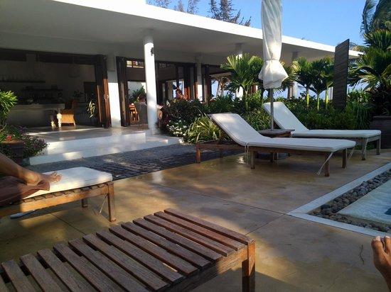 Villa Aria Muine: restaurant