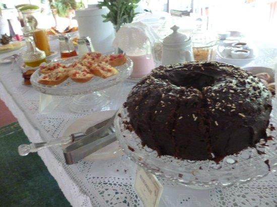Pousada Porto de Cima: Le super petit déjeuner