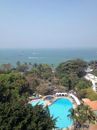 Imperial Pattaya Hotel: Fra vårt rom