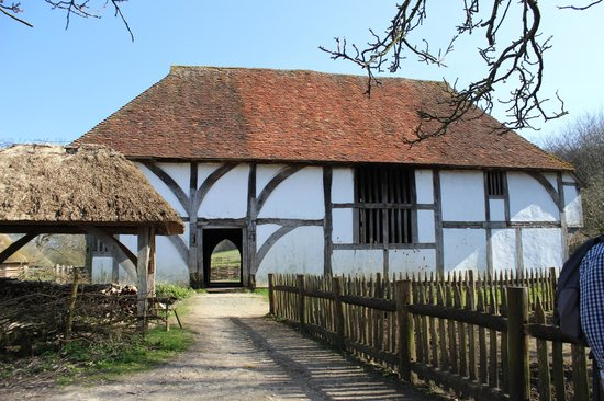 Medieval House the oldest on the site - Picture of Weald