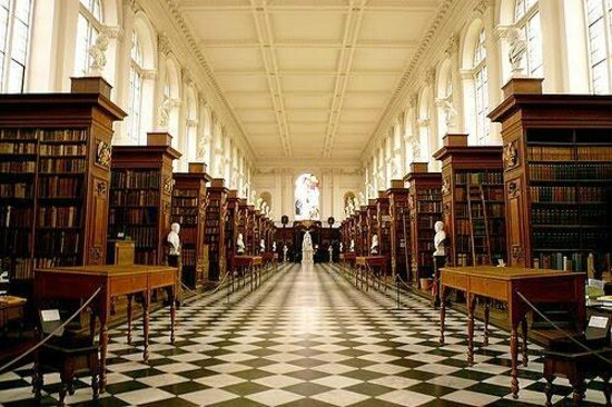 The Wren Library Trinity College Picture Of Cambridge