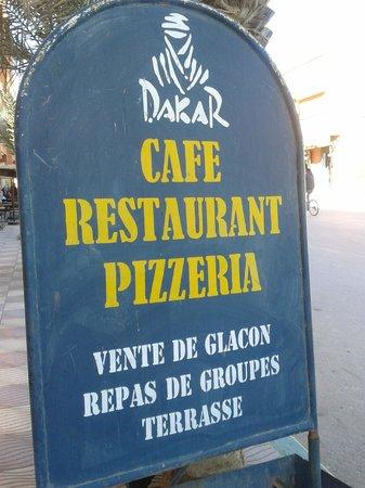 Dakar Restaurant: Pizzeria DAKAR