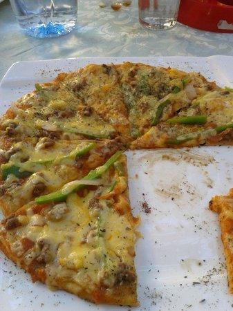 Dakar Restaurant: Pizza riquísimaaaaa