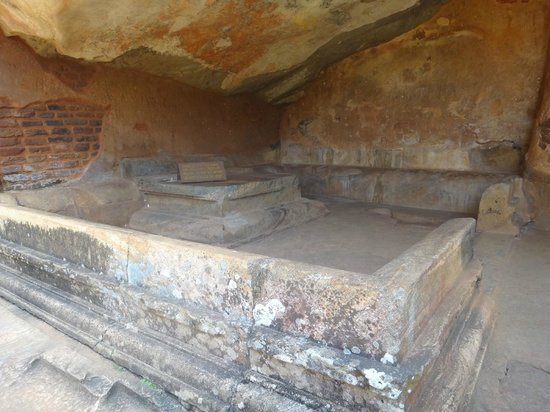 Sigiriya World Heritage Site: Зал для утех
