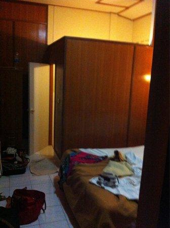Ao Nang Baanlay: Salle de bain ouverte sur chambre