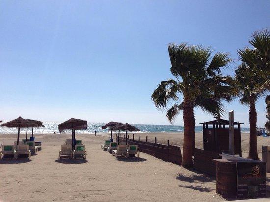 Playa de Burriana: Burriana in March. Quiet and warm.