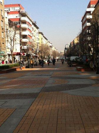 Vitosha Boulevard: Down town Sofia