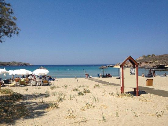 Akrogiali: Agathopes Beach