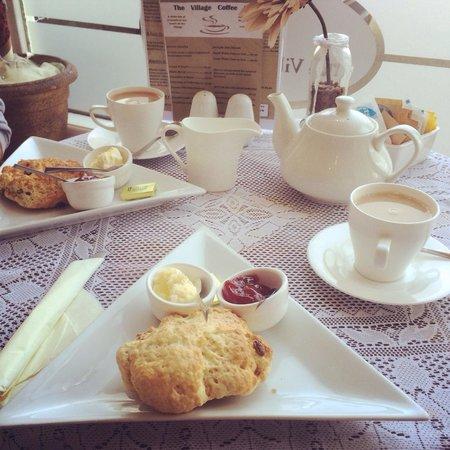 The Village Coffee Pot: Stunning cream tea!!!