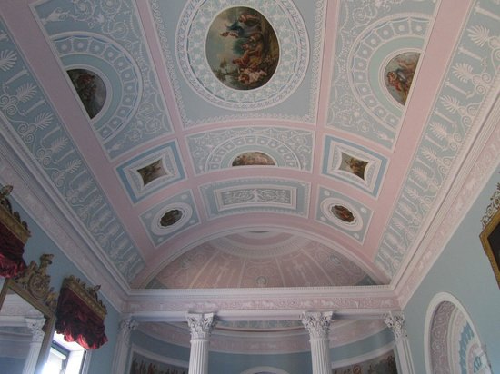 Library ceiling, Kenwood House