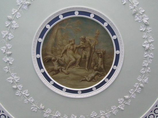 Ceiling detail, entrance hall, Kenwood House