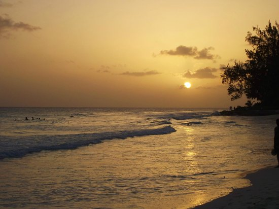 Rockley Beach: tramonto a Rockley/Accra Beach