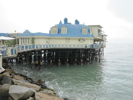 La Rosa Nautica Restaurante: Vista exterior