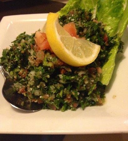Phoenician Garden Mediterranean Bar and Grill: Tabouli Salad