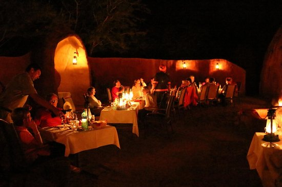 Lukimbi Safari Lodge: African Braai