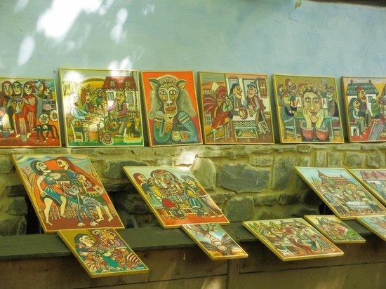 Village Museum (Muzeul Satului): Naive painting