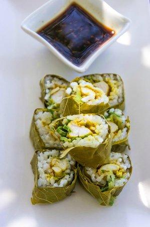 Hotel Emerald: griechisches Sushi
