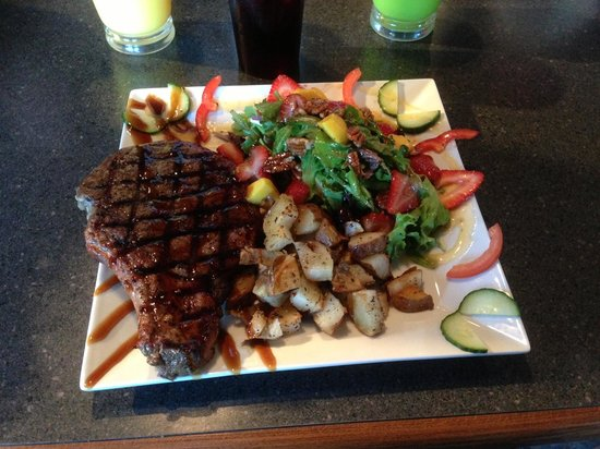 Barista's Restaurant: Ribeye Steak