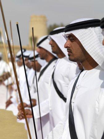 Emirates Tours and Safaris : Ayala Dancing